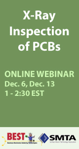 X-Ray Inspection of PCBs Webinar