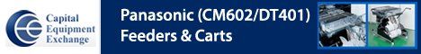 Panasonic CM602 / DT401 Feeders & Carts