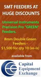 SMT Feeders universal instruments gold