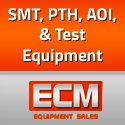 SMT, PTH, AOI,  and Test machines for sale - ECM Equipment