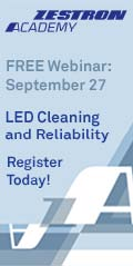 LED Cleaning and Reliability