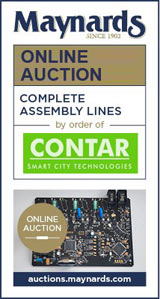 pcb assembly equipment auction - maynards