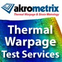 thermal warpage measurement
