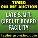 smt equipment auction - tauber