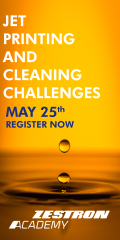 Jet Printing and Cleaning Challenges