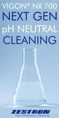 pH neutral electronics cleaning agent