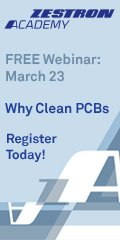 Why Clean PCB - Zestron Webinar