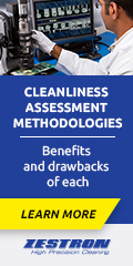 Comparing IPC cleanliness assessment methodologies for Class 2 or Class 3 electronic assemblies