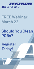 Should You Clean PCBs? - Zestron Webinar