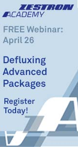Defluxing Advanced Packages