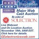Solectron Webcast Auction