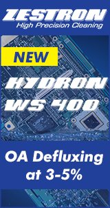 HYDRON® WS 400 - Aqueous-based cleaning medium for defluxing