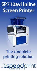SP710avi inline smt screen printer