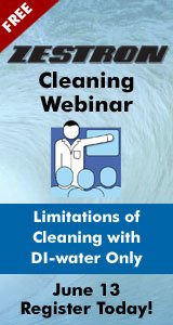 Limitations of Cleaning with DI-water Only - Webinar