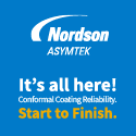 A turn-key conformal coating solution with single supplier support for the entire line.