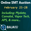 Online SMT Auction February 25 - 28: Featuring SMT Equipment From STS