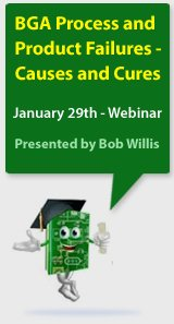 BGA Process and Product Failures - Causes and Cures - Webinar by Bob Willis