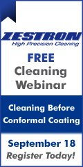 Cleaning Before Conformal Coating - Free webinar