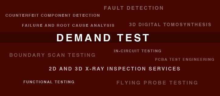 PCBA testing and inspection services