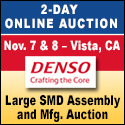 AUCTION: Over 1,500 Lots From Denso Wireless Systems