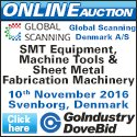Go-Dove Auction -  SMT Equipment, Machine Tools & Sheet Metal Fabrication Machinery