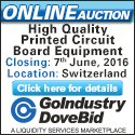 High Quality SMT Equipment. Complete Facility Closure in Moudon - Switzerland - Goindustry-Dovebid Auction