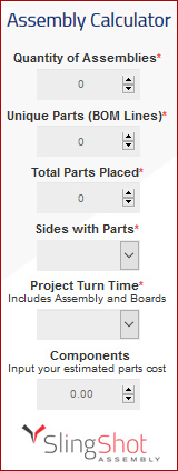 PCB Assembly Calculator