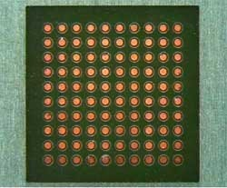 0.4mm Pitch Pad Design with 0.20mm Pads (8mils) & 0.20mm (8mils) Spacing