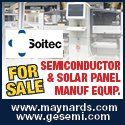 Semiconductor and Solar Panel Manufacturing Equipment