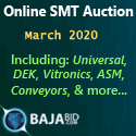 SMT Equipment Auctions March 2020