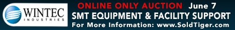 SMT Equipment Auction - Tiger Group