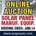 Late Model Semiconductor and Solar Panel Manufacturing Equipment Sale