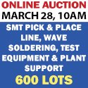 Auction March 28 - PCB Assembly Equipment