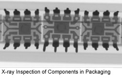 X-ray Inspection of Components in Packaging