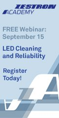 LED Cleaning and Reliability - Free Webinar Zestron