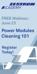 Power Modules Cleaning 101 webinar