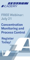 Concentration Monitoring and Process Control