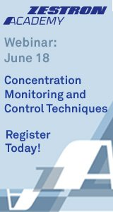 Concentration Monitoring and Control Techniques
