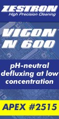 VIGON® N 600 - Aqueous-based, pH-neutral defluxing agent for spray-in-air cleaning processes