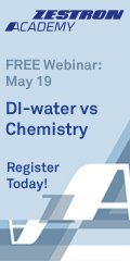 Di-Water vs Chemistry - PCB cleaning webinar
