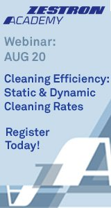 Cleaning Efficiency, Static and Dynamic Cleaning Rates - Webinar