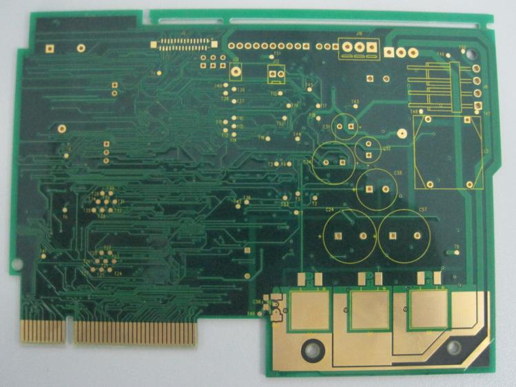 10 Layer Gold fingers PCB