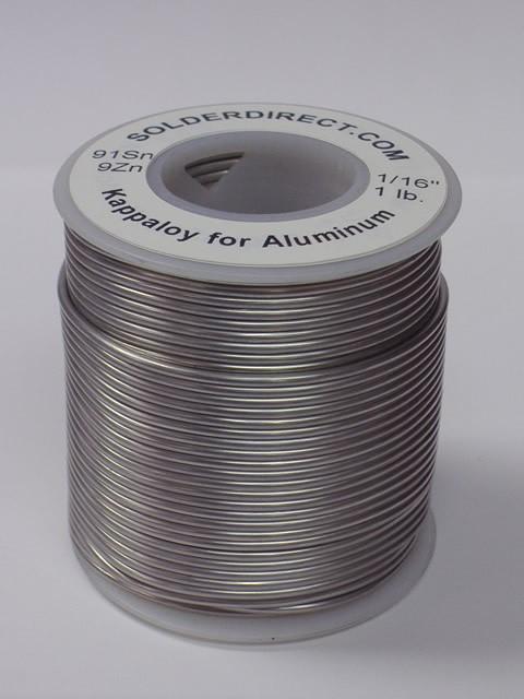 kappaloy9 tin zinc solder for aluminum to aluminum and. Black Bedroom Furniture Sets. Home Design Ideas