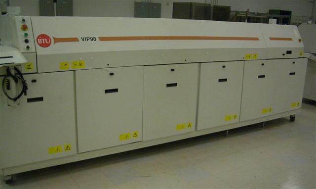 BTU VIP98N Reflow Oven