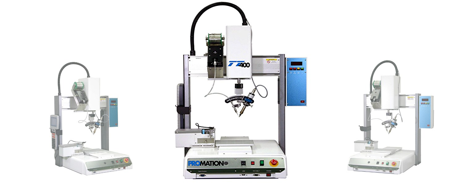 Table Top Soldering Robot Pro Mation Inc