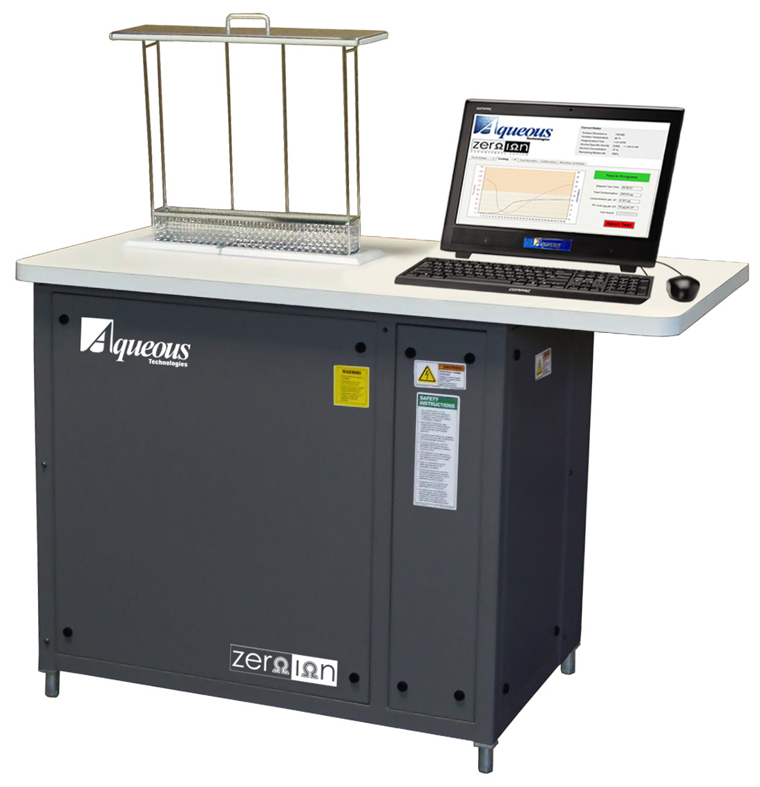 Electronic Tester Job Description : Zero ion g ionic contamination cleanliness tester