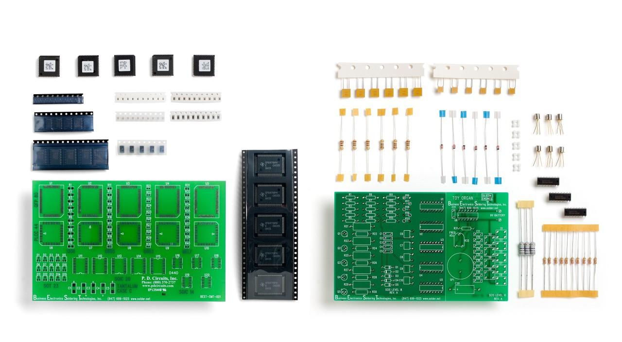Best Lead Free Mixed Technologies Training Kit Printed Circuit Board Repair Pcb Rework Modification