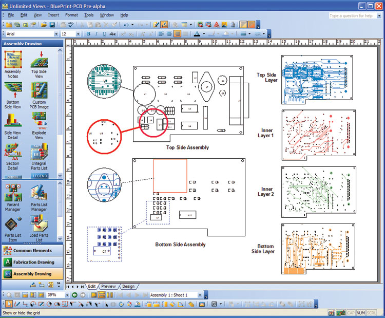 Blueprint pcb automating the documentation process malvernweather Choice Image