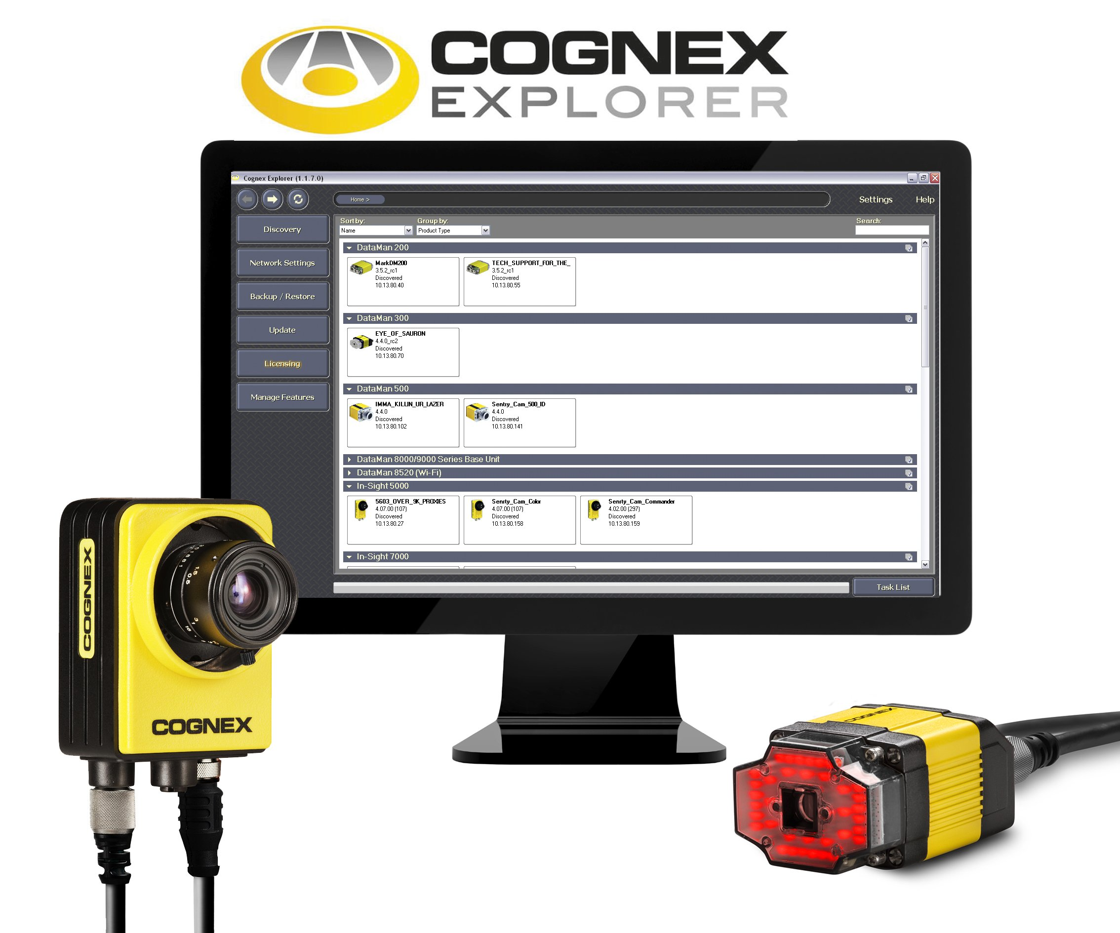 New Control Center For All Cognex Vision Systems And