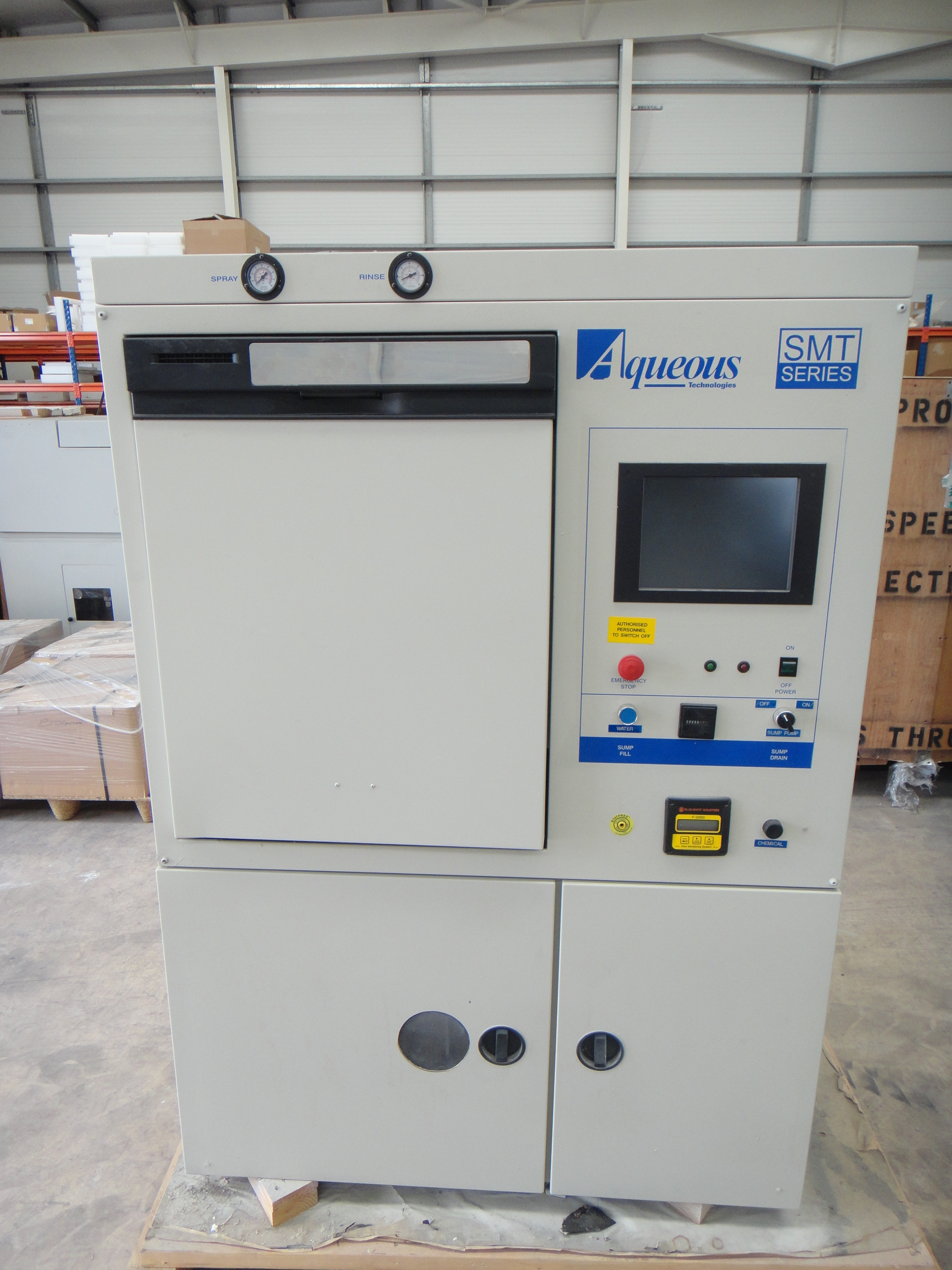 Aqueous Technology Smt800 Batch Cleaner Circuit Board Cleaning Equipment Pcb Cleaners Machine